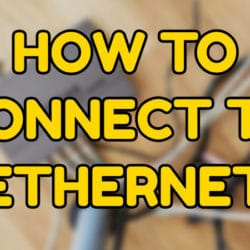 Connect to the Ethernet