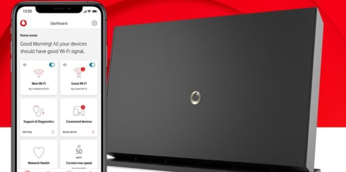vodafone router login page