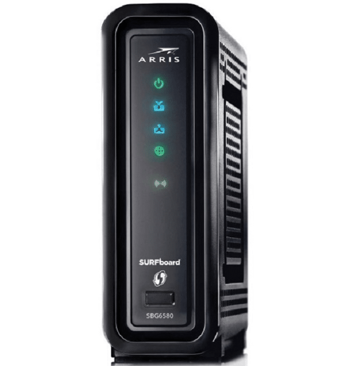 arris sbg6580 router