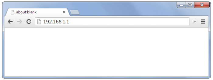 Search IP on the address Bar
